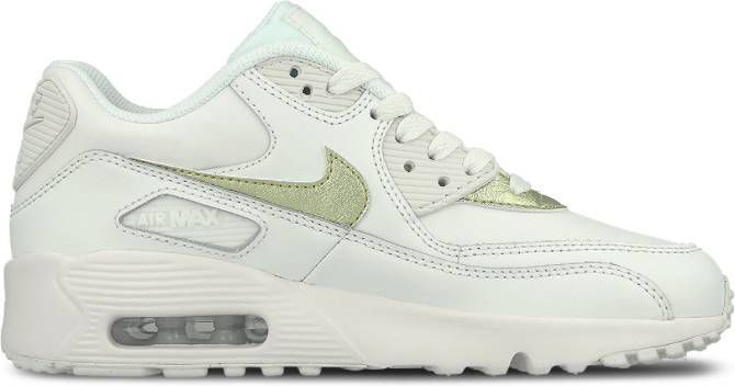competitive price 85751 b7295 Nike Air Max 90 Leather GS 833376-103 Wit-38.5 maat 38.5
